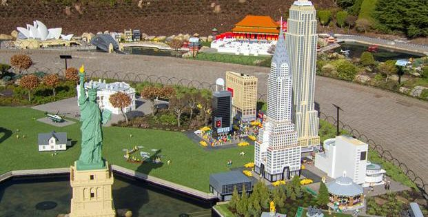 Legoland reveals drone's eye view of new Miniland expansion