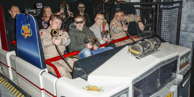Ghostbusters 5D – The ultimate ghost hunt opened by VIP ghosthunters
