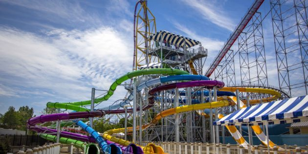 New Cedar Point Shores waterpark opens