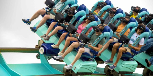 SeaWorld adds virtual reality experience to the Kraken