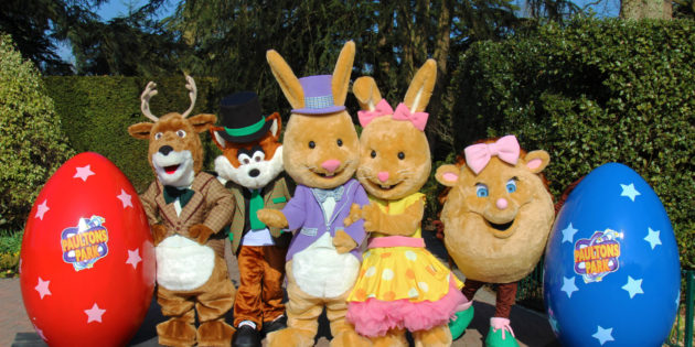 Hop on over to Paultons Park this Easter