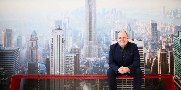Alan Lowry joins the elite of the Themed Attraction Industry