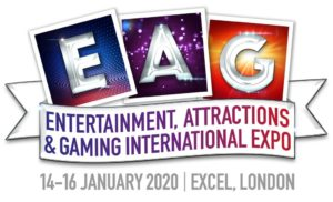 EAG 2020 to showcase new tech for coin-op attractions