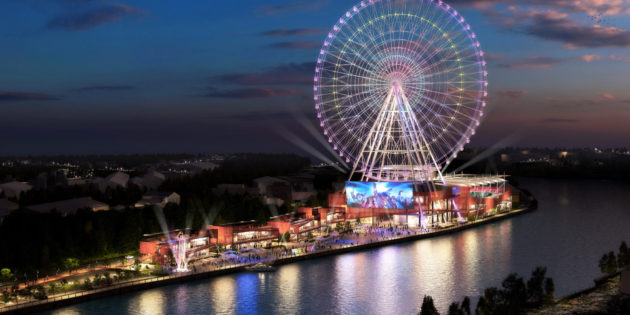 Roll on, Newcastle: new giant wheel pictures revealed