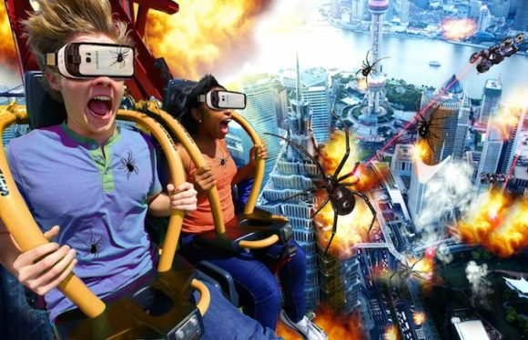 Six Flags extends VR to tower rides