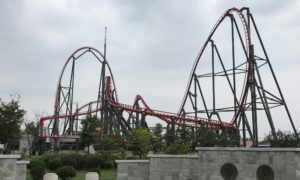 S&S to open Double Towers and Launch Coaster for Sun Tzu Cultural Park