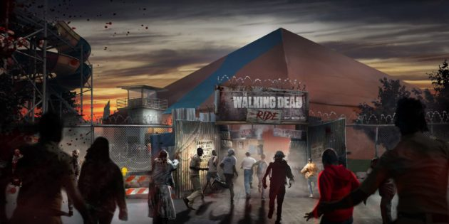 The Walking Dead: The Ride arrives at Thorpe Park