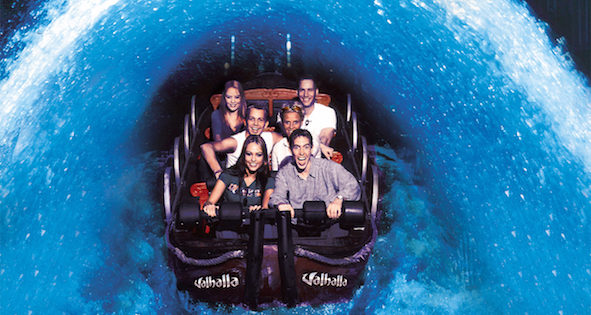 Blackpool Pleasure Beach's Valhalla gets the golden ticket for the fifth year running