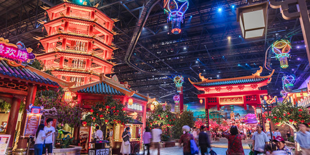 Wanda's biggest indoor theme park in Nanjing opens its doors