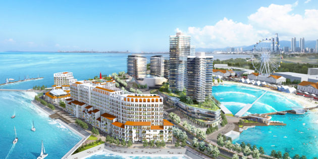 Spanish engineering company WAVEGARDEN signs contract to build the world's largest surfing lagoon in South Korea