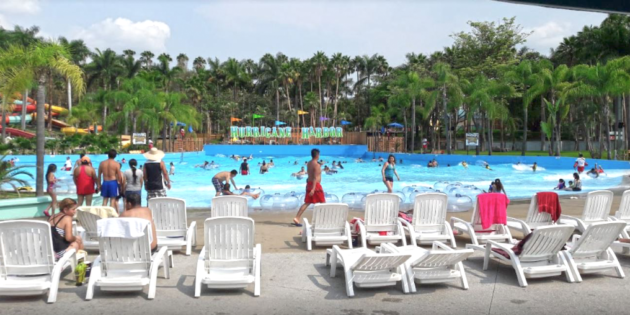 Newly renovated Six Flags Hurricane Harbor opens in Mexico