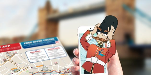 Cross-city augmented reality treasure hunt launched