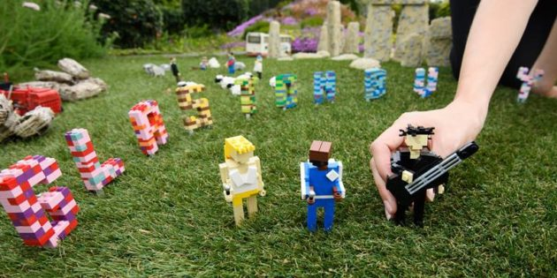 Legoland Windsor recreates Glastonbury