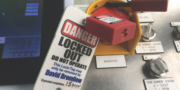 Lock it out for safety