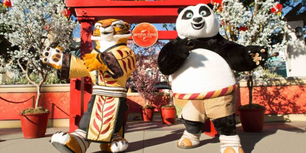 Universal Studios Hollywood celebrates the Year of the Dog